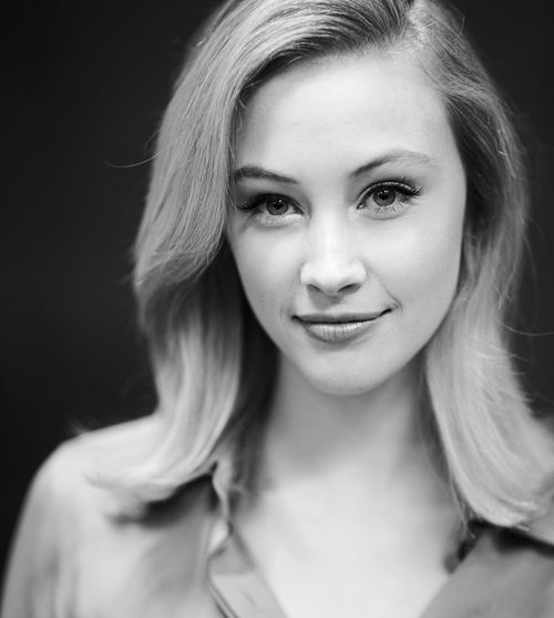 """ Sarah Gadon poses for a portrait backstage at George Stroumboulopoulos Tonight """