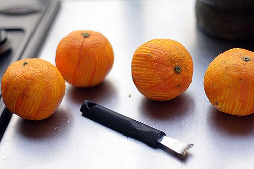 David Lebovitz' Orange Syrup Cake with Candied Oranges.  Easy to make GF.  Mostly almond flour.
