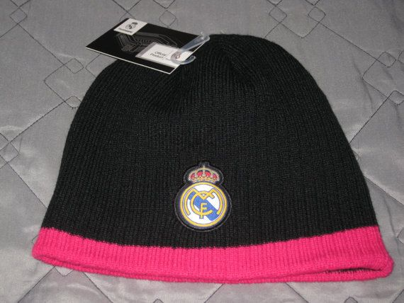 Sale Real Madrid Soccer Beanie Winter Hat Cap by casualisme