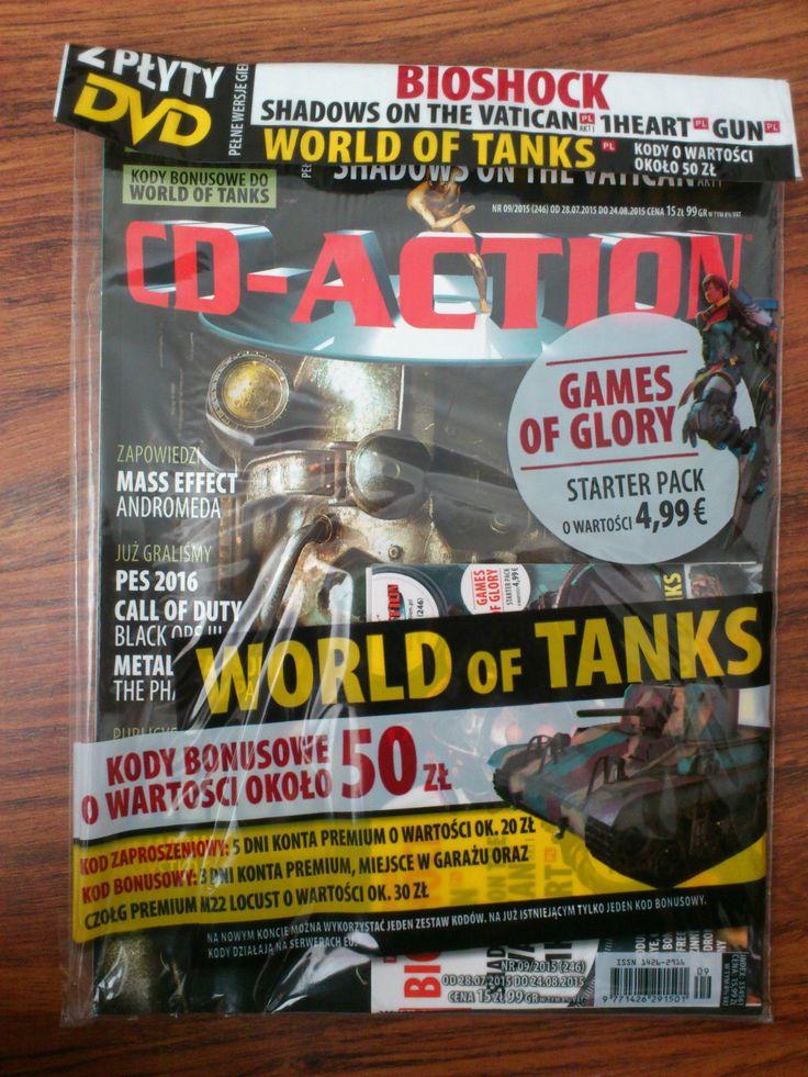 Magazine CD-Action 9/2015 Fallout, World of Tanks   eBay