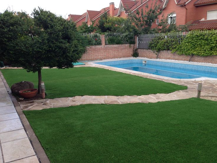 44 best images about c sped artificial para so xtra on for Jardines cesped y piedras