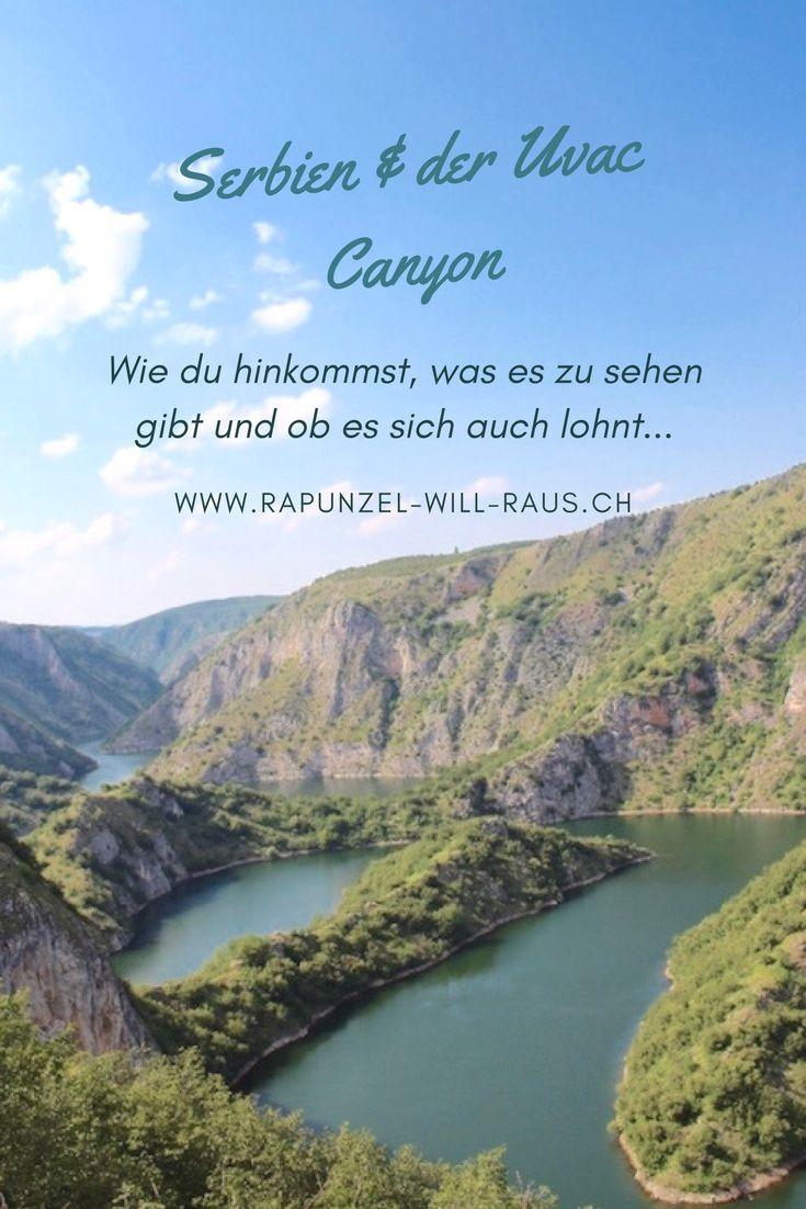 Serbien, ein touristisch noch unentdecktes Land - so auch der Uvac Canyon.