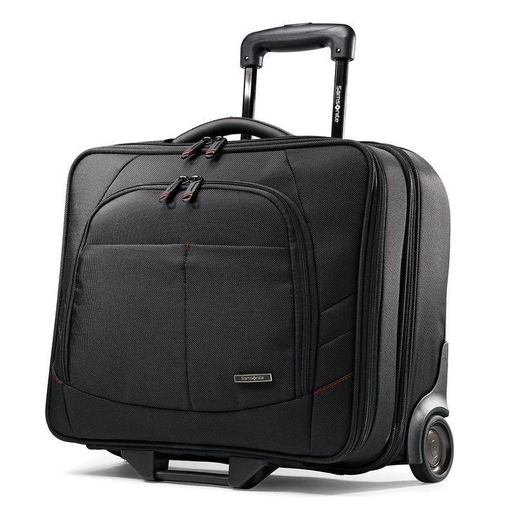 Samsonite Xenon 2 Mobile Office Wheeled Laptop Briefcase, Black