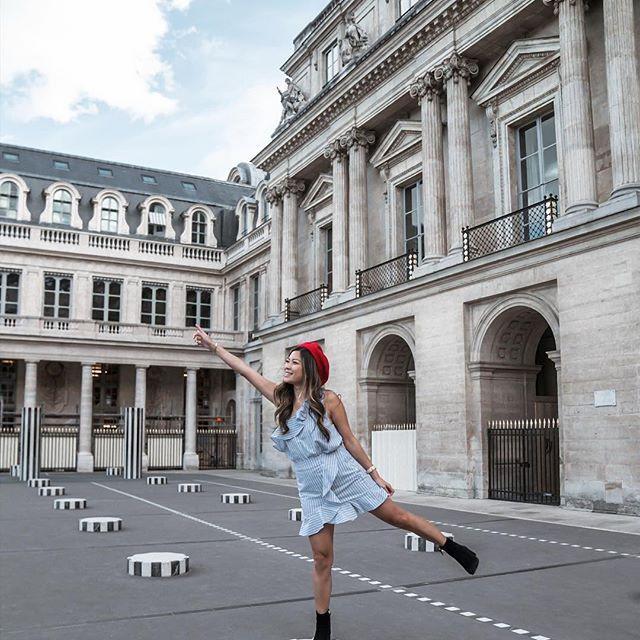 Pretending I'm super women in 🇫🇷 👩🎨 - Wearing: @samandlavi - http://liketk.it/2t2ZW #liketkit @liketoknow.it #TDLFrance #france #paris #iloveparis #topparisphoto #parisian #palaisroyal #ig_paris #parisianstyle #visitfrance #topfrancephoto #livingeurope #europetrip #americanstyle #wearetravelgirls #dametraveler #MGemiCorsa