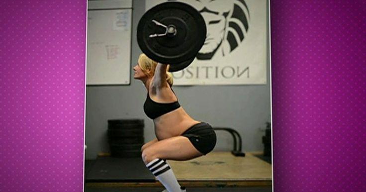Especialistas alertam sobre perigo de exercícios pesados durante gravidez