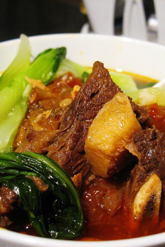 Taiwanese Beef Noodle Soup | Love soups! | Pinterest