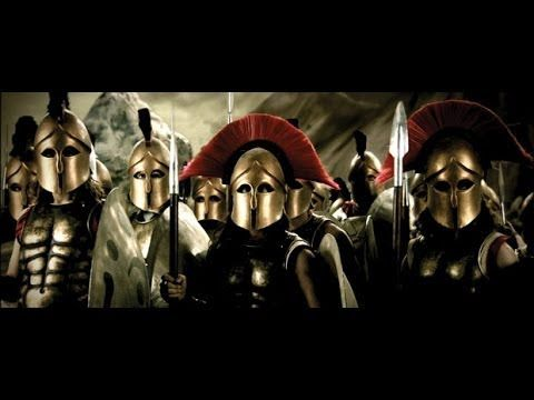 Last stand of the 300 Spartans - YouTube