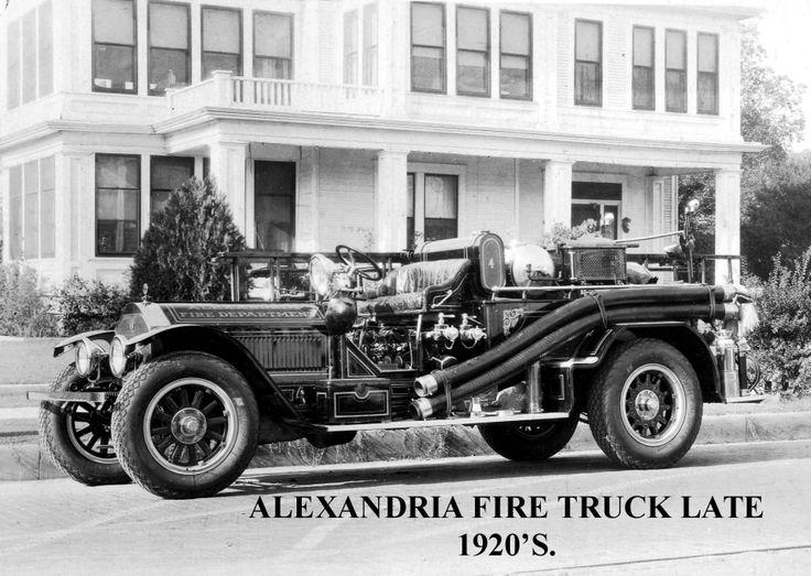 Early Trucks Early fire truckAlexandria 001 Fire