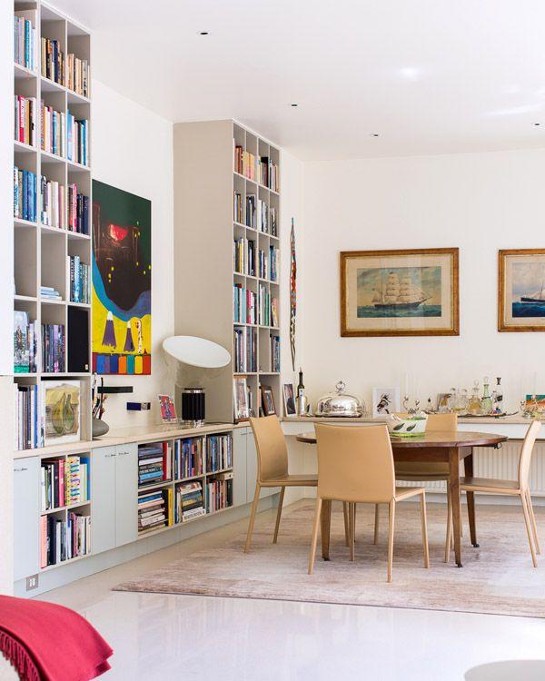 full height book shelves