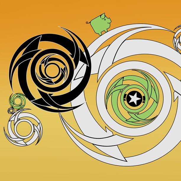 #vectors #october #corel #coreldraw #spiral #tribal