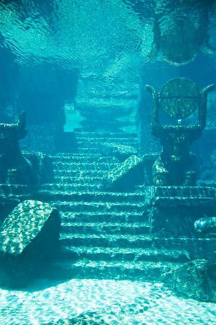 The Lost City of Atlantis   Заброшенные места, Закрытые ...