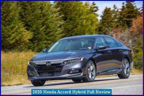 2020 Honda Accord Hybrid New Honda Accord Hybrid Di 2020