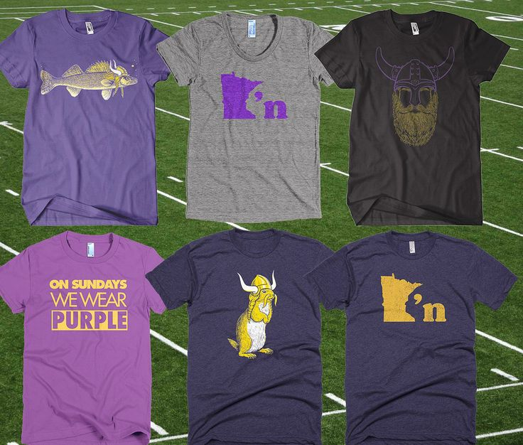 We're stocked up on Purple & Gold and ready for some football! Shop online at mspclothing.com/collections/purple-gold