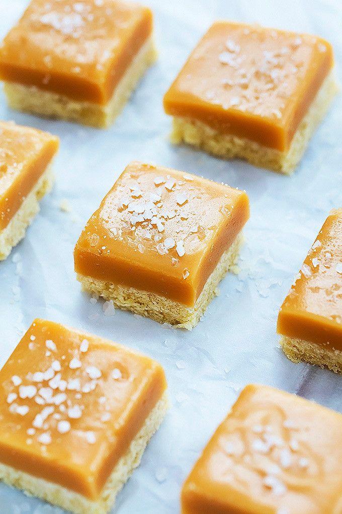 Love! // Salted Caramel Shortbread