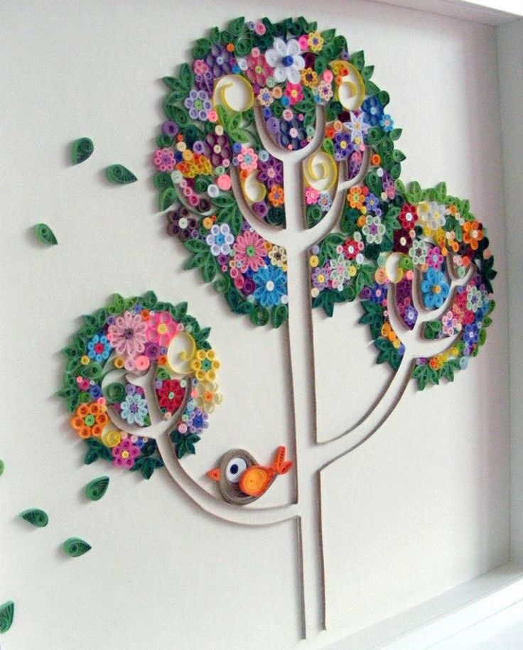 Las 25 mejores ideas sobre decoraciones abanico de papel for Manualidades para decorar espejos