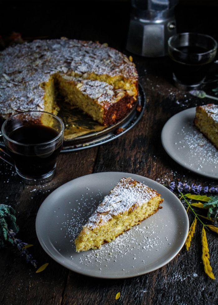 Ricotta and Polenta Almond Cake {Katie at the Kitchen Door}