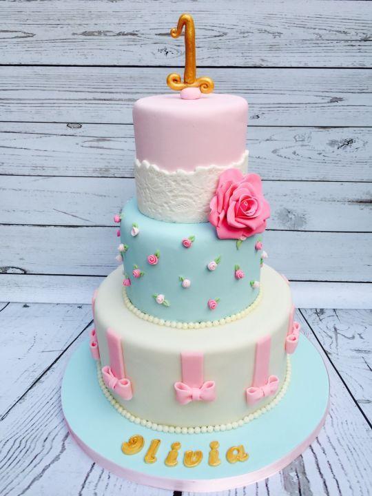 Shabby Chic Birthday Cake Cake Recipe