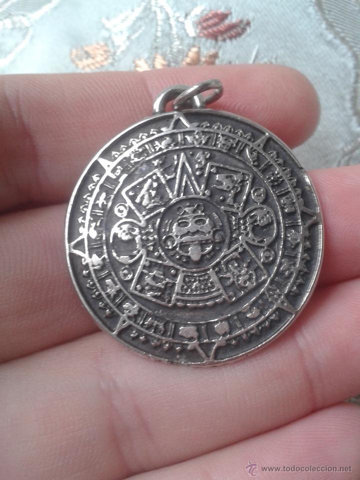 dea1ccafb9bc Precioso medallón calendario azteca o piedra del sol Bronce en 2019 ...