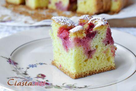 przepis na proste ciasto z truskawkami