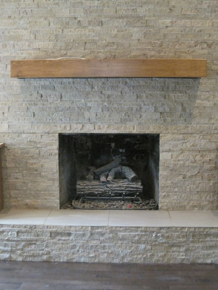 Stacked Stone Fireplace All About The Tile Pinterest Stone Fireplaces Stacked Stone