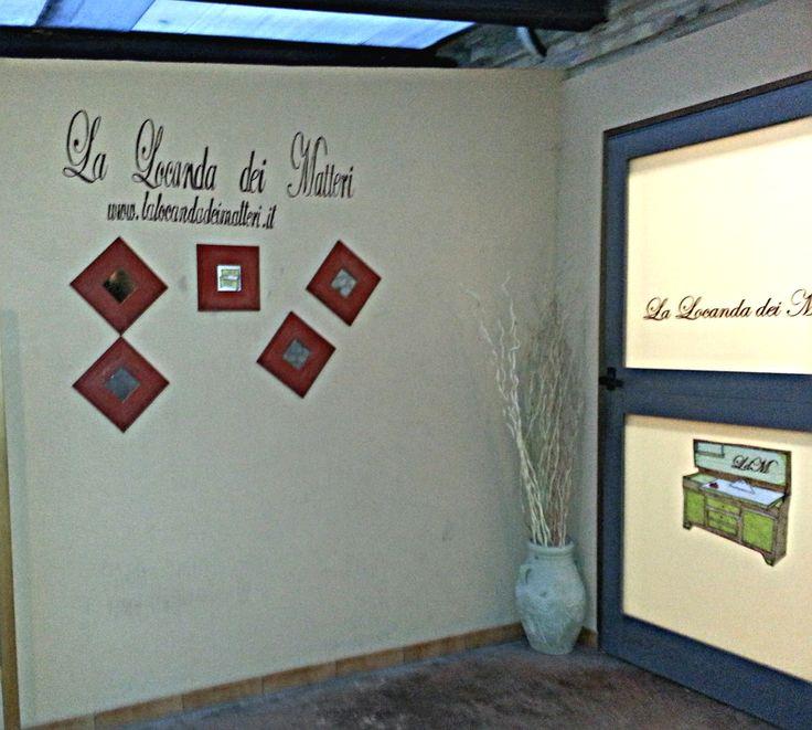 esterno del ristorante La Locanda dei Matteri
