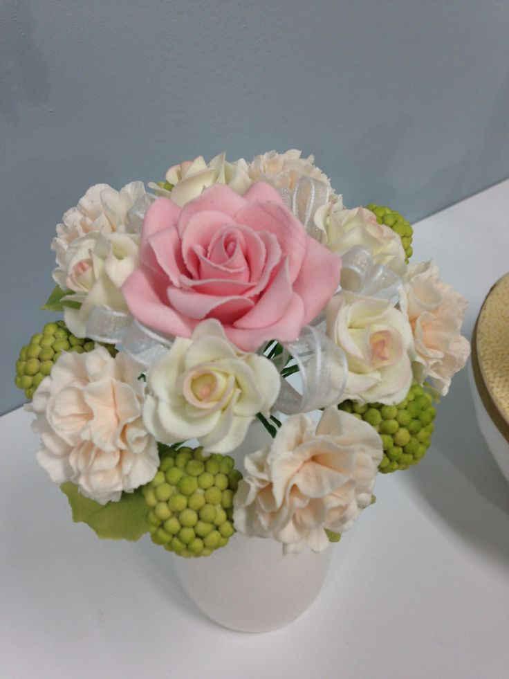 you can the flower. it's Sugar-craft