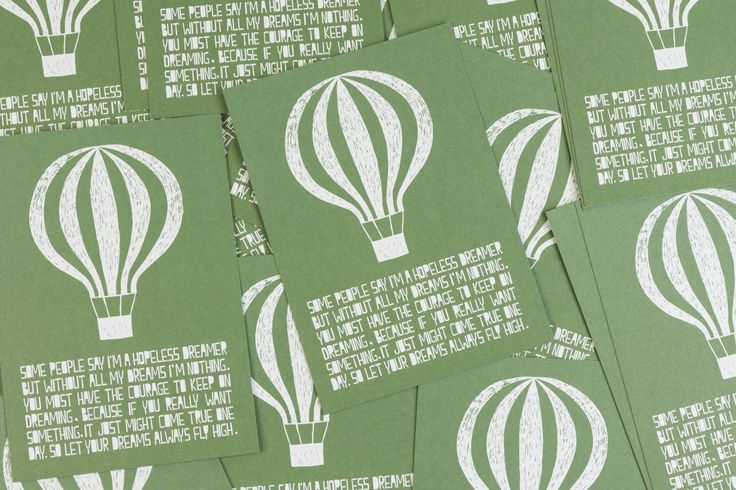 Muumuru postcard: Life Balloon