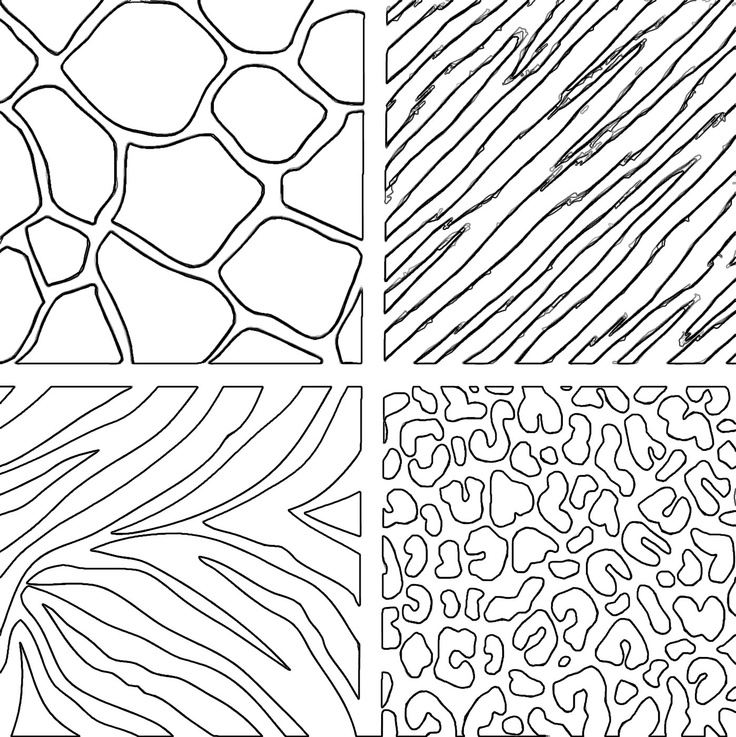 animal outlines coloring pages | 266 best images about Outlines & Coloring Pages on ...