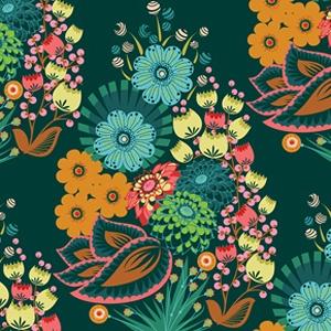 Summer Totem Emerald ~ LouLouThi VELVETEEN