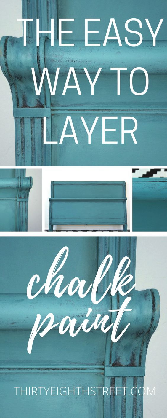 Top hat chair light blue furniture realm - How To Layer Chalk Paint Tips For Layering Chalk Paint On Your Furniture