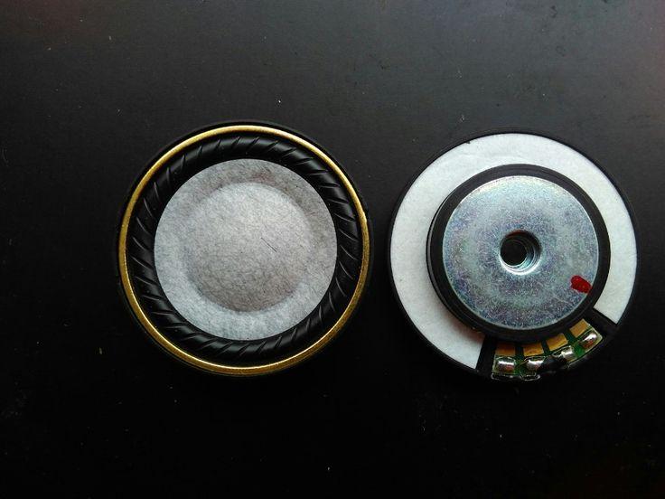 40mm speaker unit  wool pots earphone unit