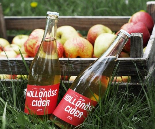 Hollandse Cider // The Dieline - Designed by Mattmo   Country: The Netherlands