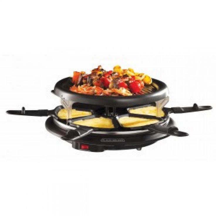 Parrilla Raclette Para Cocinar B&D Ra209