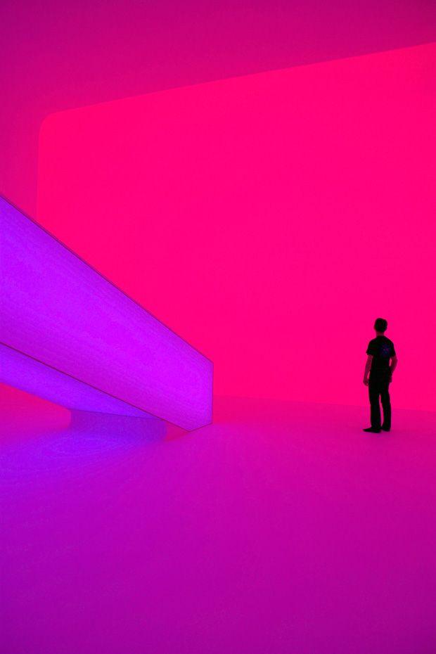 James Turrell's light installation,