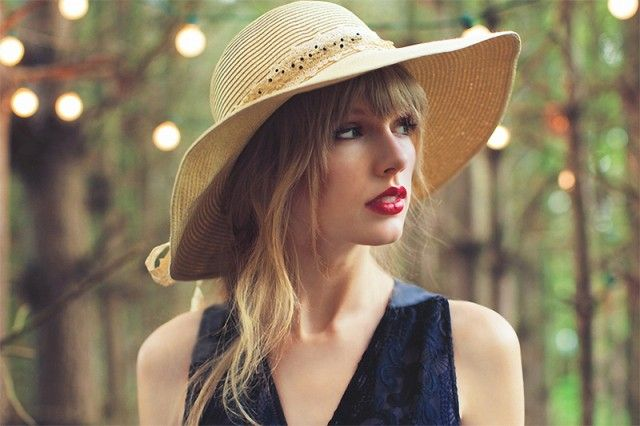 Taylor Swift Red photoshoot by Sarah Barlow