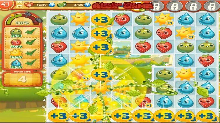 Farm Heroes Saga Level 5 Only 3 StarS (8 Place - Top List) 431%