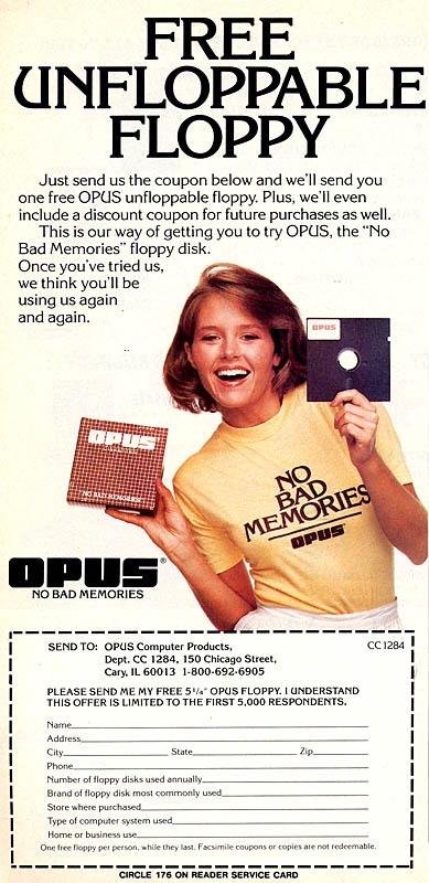 Floppy unfloppable #retro