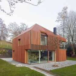 House 11 x 11 by Titus Bernhard Architekten. #dwellinggawkerSmall House Design, Bernhard Architekten, Titus Bernhard, Contemporary House, Munich Germany, Wooden House, Architecture, House 11, Titusbernhard