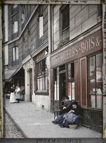Photos de Paris en couleur en 1900 paris couleur 1900 albert kahn 171