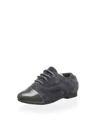 60% OFF Venettini Kid's Ally (Dark Grey Patent/Grey Suede)
