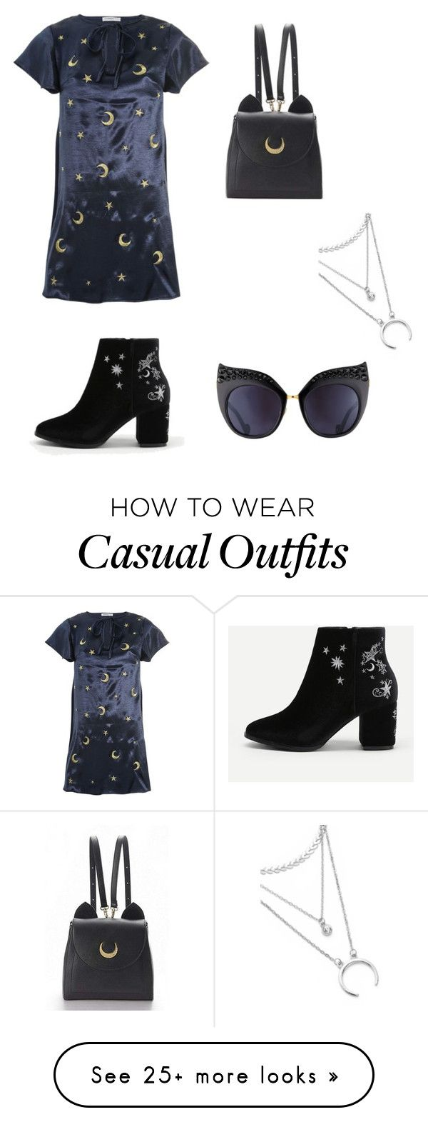 """""""Untitled #316"""" by addieraedesigns on Polyvore featuring Glamorous, WithChic and Anna-Karin Karlsson"""