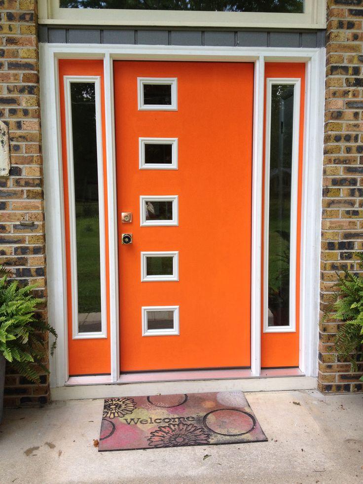 Best 25 modern front door ideas on pinterest modern for Therma tru pulse