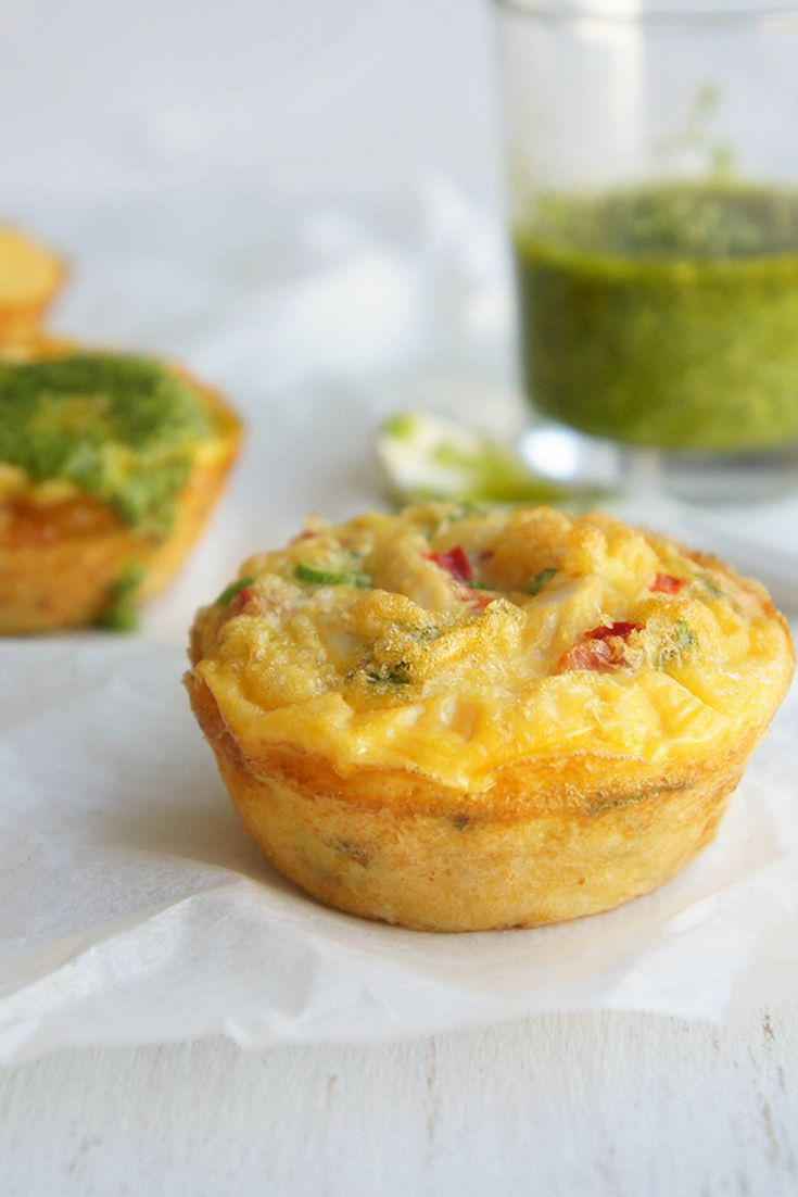 These delicious Egg Muffins make the perfect after-school snack for hungry little tummies.