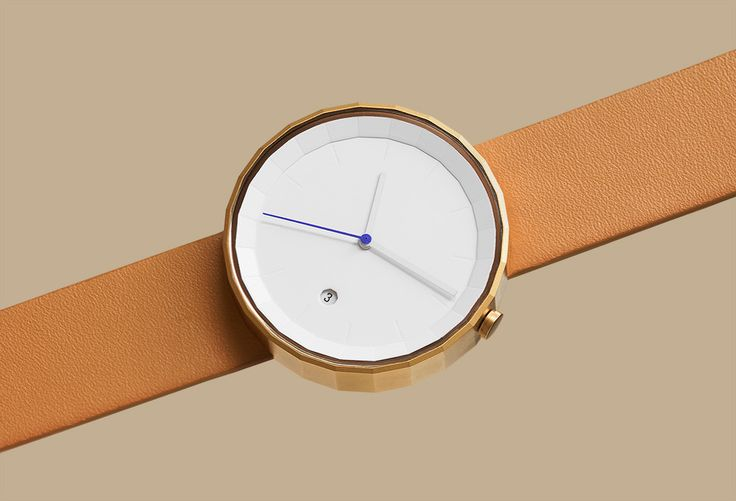 chiandchi POLYGON WATCH $115.00 The Polygon watch is a modern timepiece that features refined details. All the elements on the watch are shaped into unique geometrical forms. The 24-cut case and dial present the time in a distinctive aesthetic way.