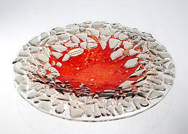 Geschenkidee Glasschale - fusing glass bowl
