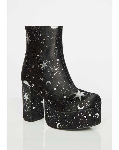 a0fbf1f4ca2 Lyra Platform Boots  dollskill  currentmood  moon  stars  holiday  sparkle   platform  shoes