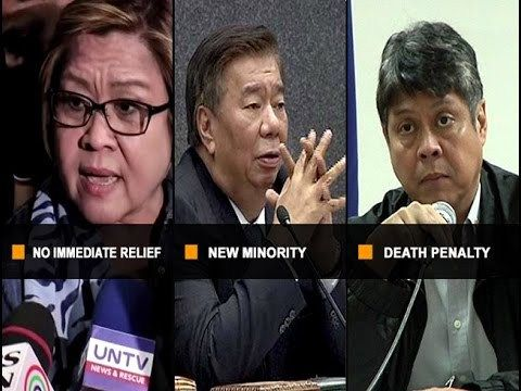 UNTV: Why News (February 28, 2017) - WATCH VIDEO HERE -> http://dutertenewstoday.com/untv-why-news-february-28-2017/   — Supreme Court sets hearing for De Lima's petition on March 14  — Senator Franklin Drilon is new minority bloc leader  — Liberal Party holds caucus, calls on members to support position against death penalty reimposition bill — These and more on this episode of Why News Why News AIRING DATE: Fe...