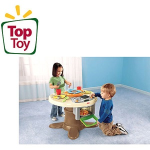 Walmart Fisher Price Servin Surprises Kitchen And Table