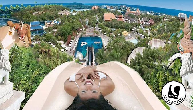 UK Holidays: Tenerife, Spain: 3, 5 or 7-Night All-Inclusive Break With Siam Park Entry for just: £199.00 Blue skies, soft sands and thrilling water rides await in Tenerife.      Relax with a 3, 5 or 7-night all-inclusive stay for a truly stress-free getaway      Stay at Blue Sea Callao Garden or Palia Don Pedro Tenerife      All meals and drinks at the hotels are included in the price     ...