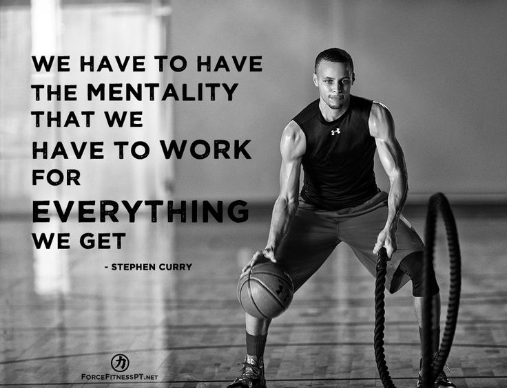 Stephen Curry, Fitness, Mentality, Hard Work, Work, Effort ... Stephen Curry